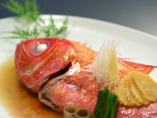 金目鯛姿煮一例